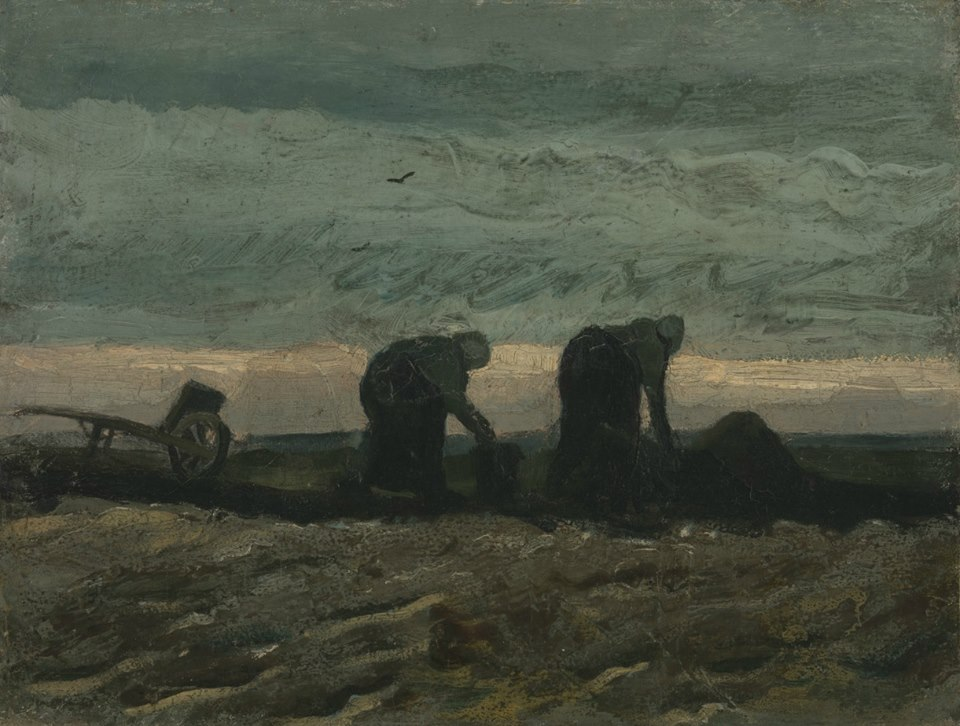 Two Women on the Peat Moor, October 1883.