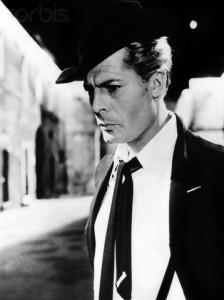 1963 --- Marcello Mastroianni in Fellini's . --- Image by © CinemaPhoto/Corbis