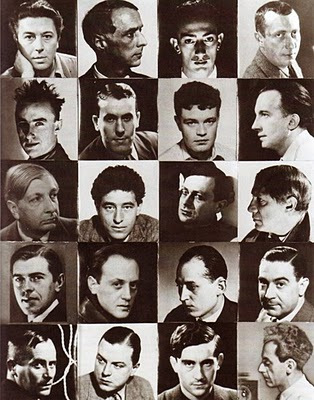 The surrealist chessboard,1934, fotomontaje