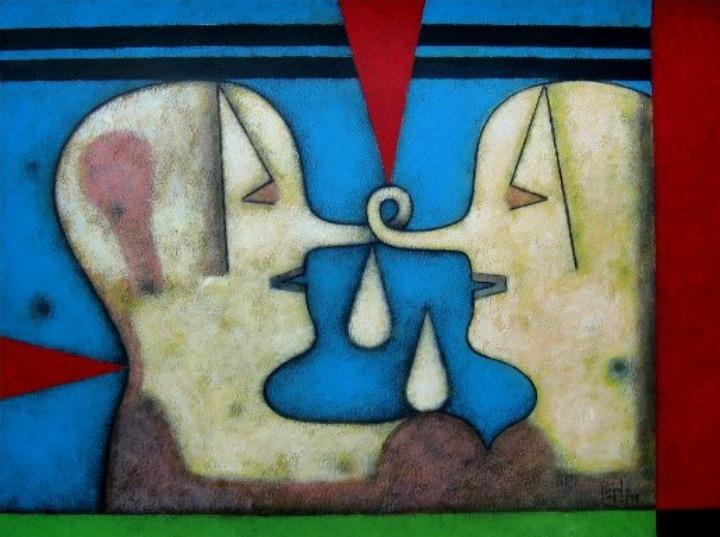 Orlando Boffill, su pintura: una obra de síntesis